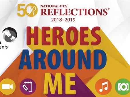 TECA PTA presents Heroes Around Me Art Contest