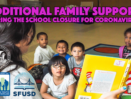 Additional Family Services During the Coronavirus Closure
