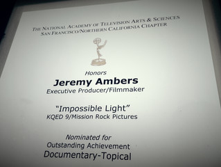 IMPOSSIBLE LIGHT - EMMY AWARDS!