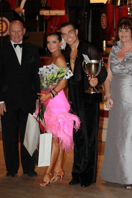 LATIN WINNER WITH BRYAN ALLEN AND JENNY