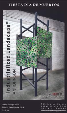 Industrialized Landscape (outdoor sculpture commission)