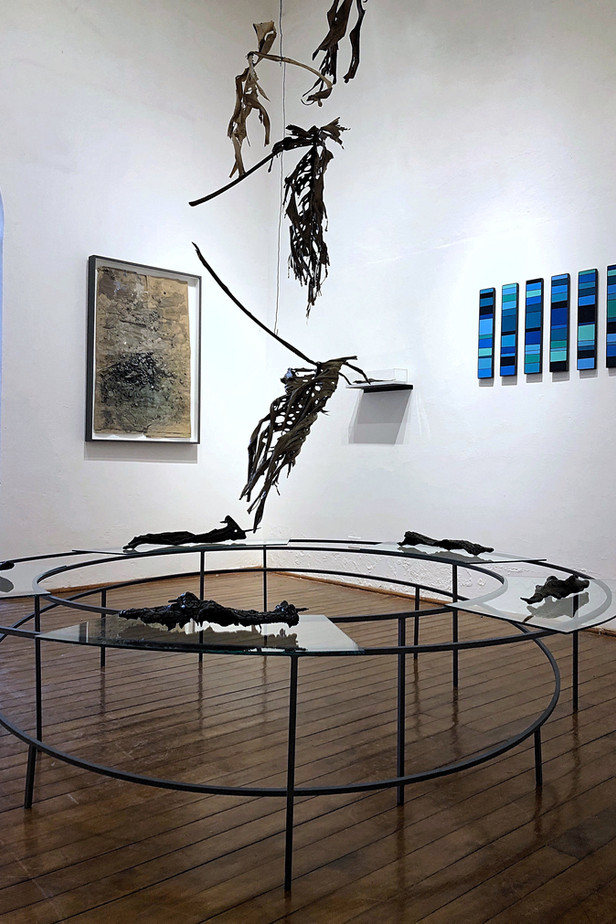 The Weight of Gravity (installation view)