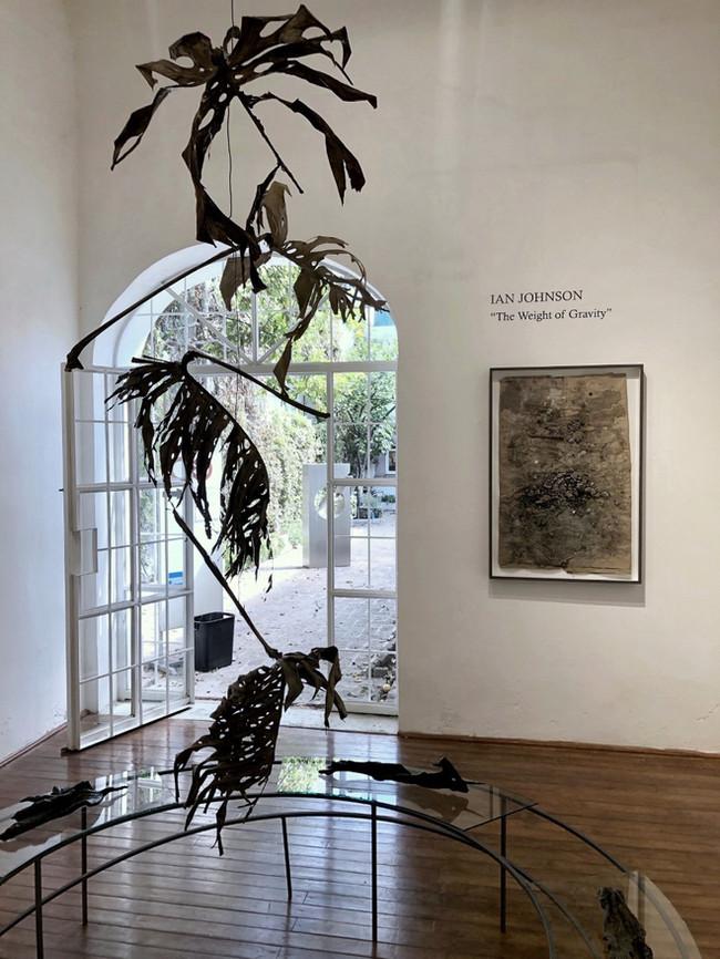 Exhibition (solo): 'The Weight of Gravity' Interseccion Arte Contemporaneo, MX Nov 2020 - Jan 2021