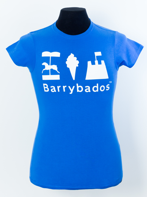 Ladies Blue Flag Tee