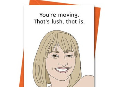 Stacey Moving Card