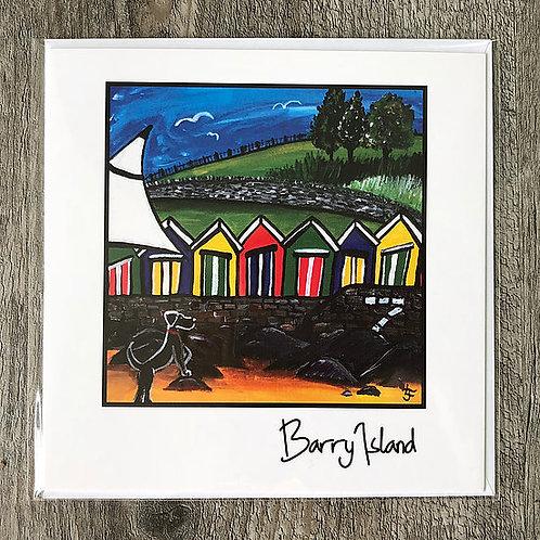 Jenny Lambert - Barry Island Card