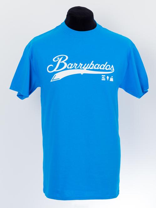 Script T-Shirt - Sapphire Blue