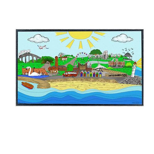 Barry Illustration Doormat