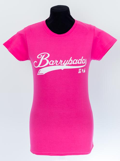 Script T-Shirt Pink