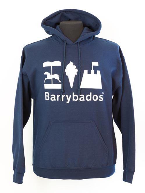Barrybados Hoodie - Navy