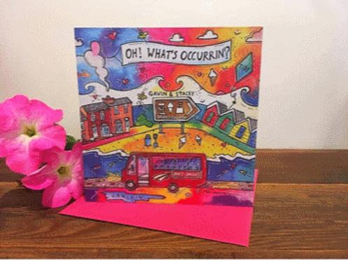 Rhiannon Art - What's Occurrin' Card