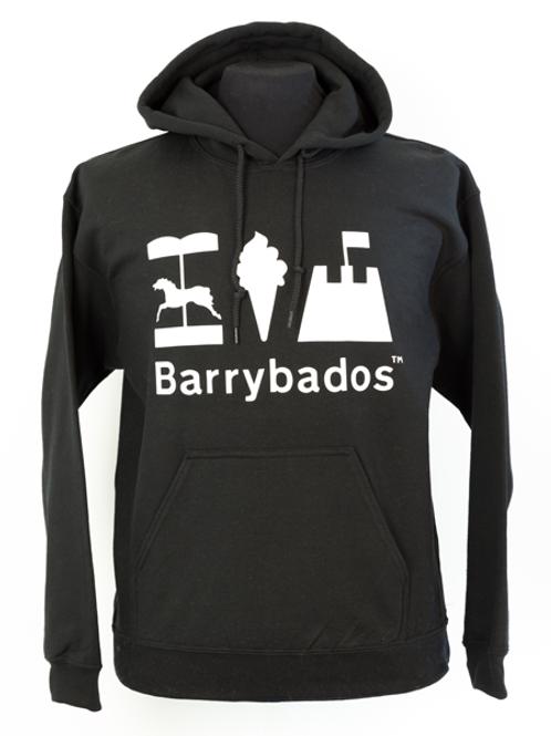 Barrybados Hoodie - Black