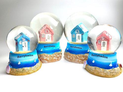 Barrybados Snow Globes