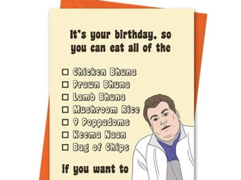 Smithy Birthday Card