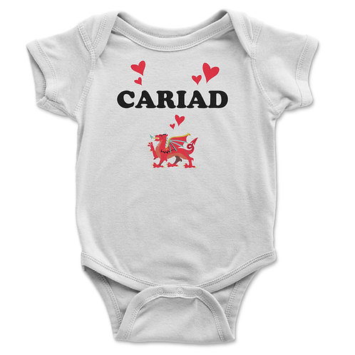 Cariad Baby Vest