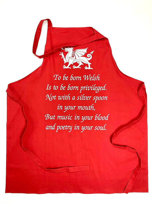 To be born Welsh Apon