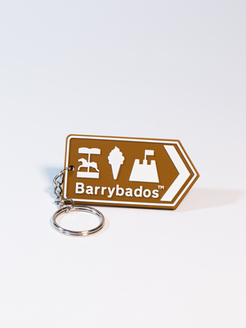 Barrybados Keyring