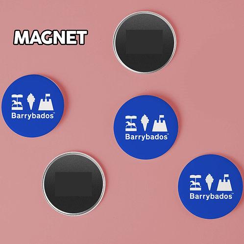 Barrybados Blue Magnet