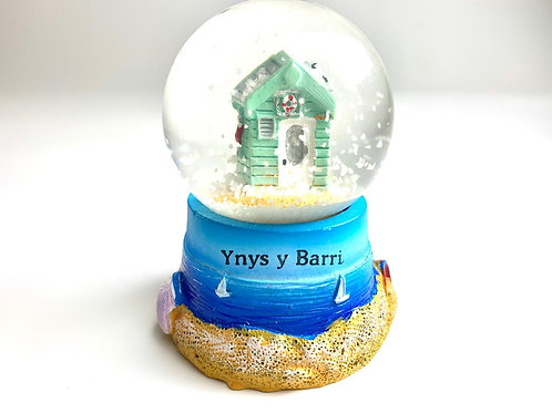 Ynys y Barri Snow Globe