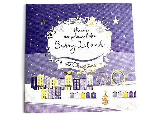 Barry Island Christmas Card