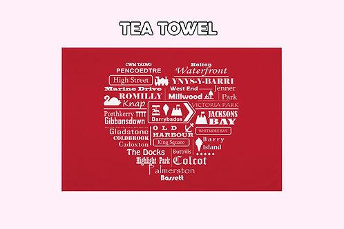 Barry 'Home' Tea Towel