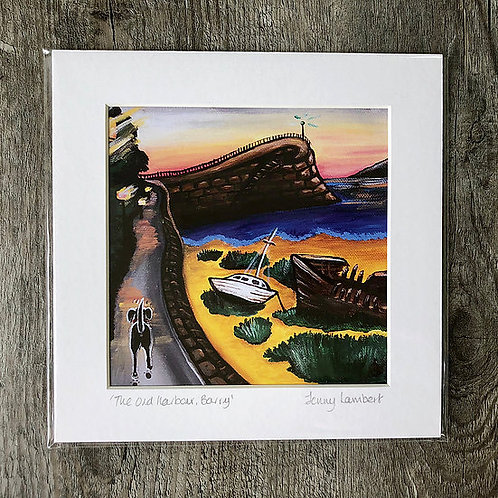 Jenny Lambert Old Harbour Print