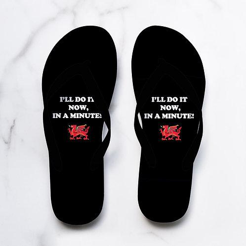 Now in a minute Flip Flops