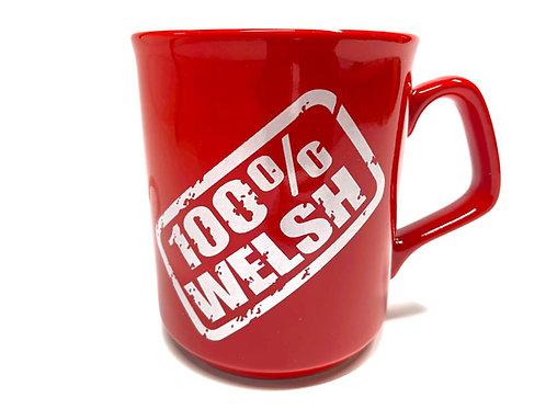 100% Welsh Mug