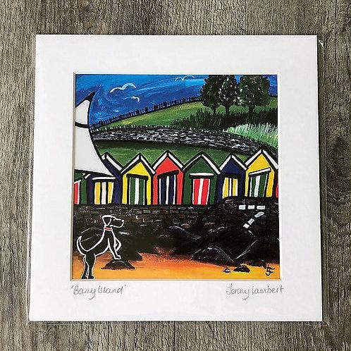 Jenny Lambert Barry Island Print