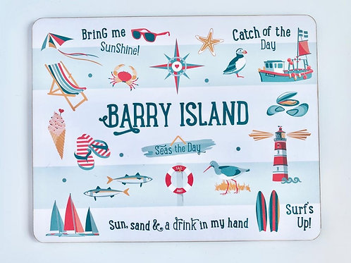 Barry Island Placemat