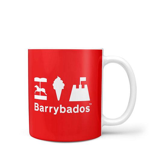 Red Barrybados Mug