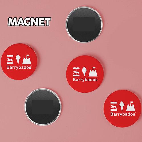 Barrybados Red Magnet