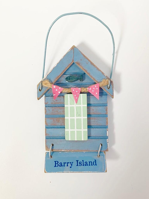 Barry Island Rustic Hanging Sign