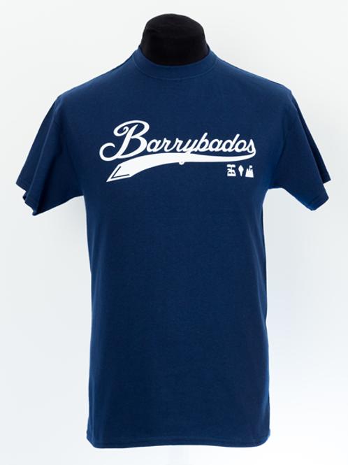 Script T-Shirt - Navy