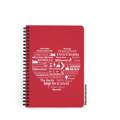 Barry 'Home' Notebook