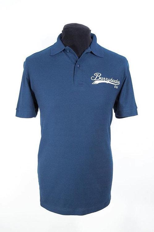 Barrybados Polo shirt - Navy Small