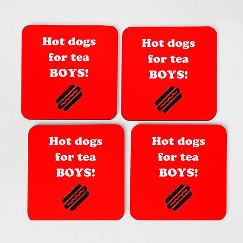 Hot Dogs For Tea Boys