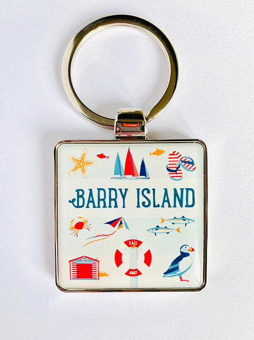 Barry Island Keyring