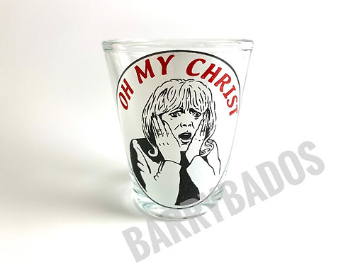 Oh My Christ Shot Glass