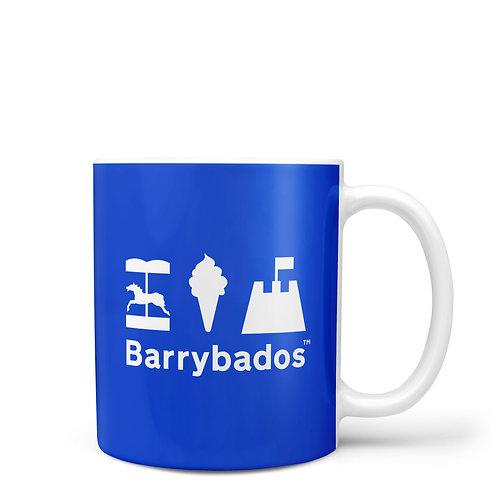 Blue Barrybados Mug