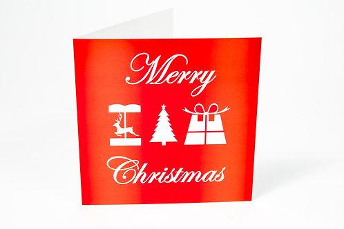 Christmas Cards (PK of 5) - English