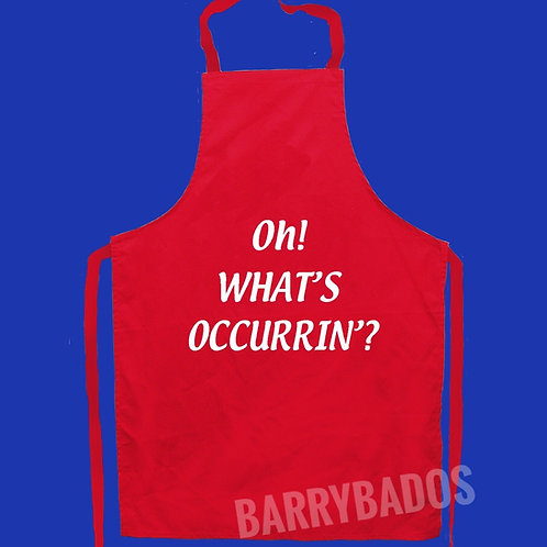 Oh! What's Occurrin' Apron