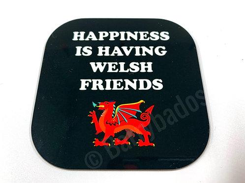 Welsh Friends Coaster