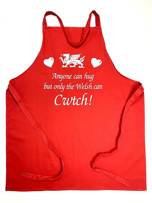 Only the Welsh can Cwtch Apron