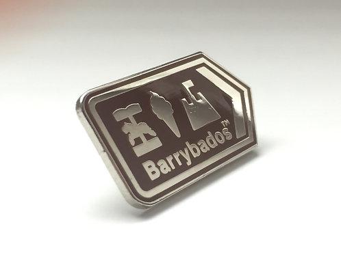 Barrybados Pin Badge