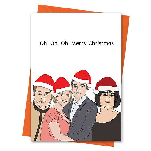 Oh Oh Oh Christmas Card