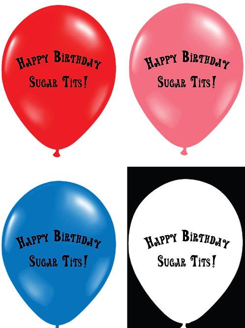 Sugar Tits Balloons