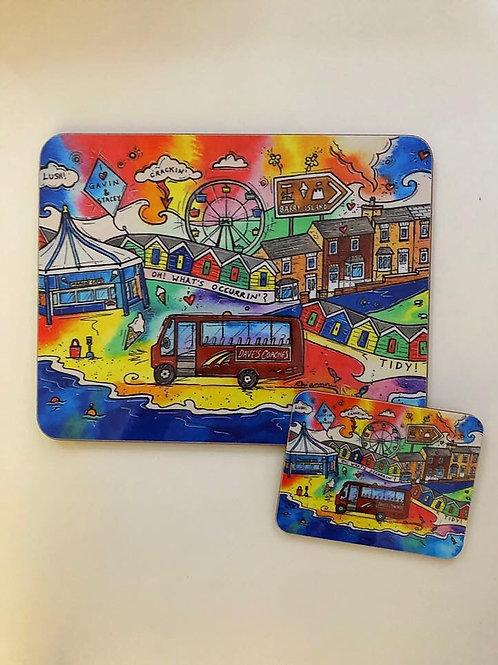Rhiannon Art Crackin Coaster