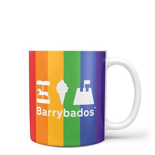 Rainbow Barrybados Mug