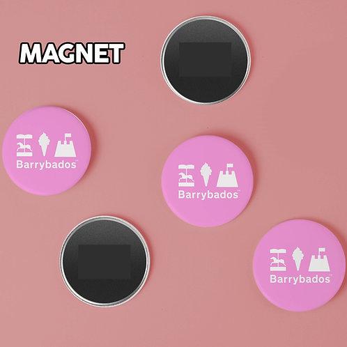 Barrybados Pink Magnet